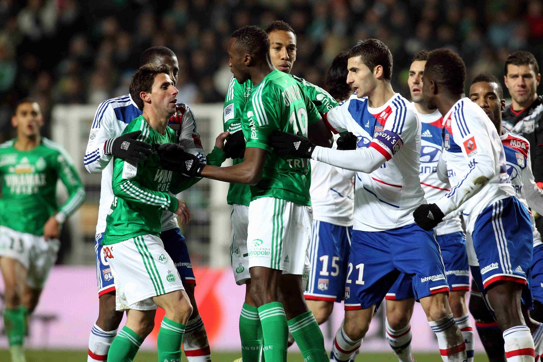 Olympique lyonnais - AS Saint-Étienne en football