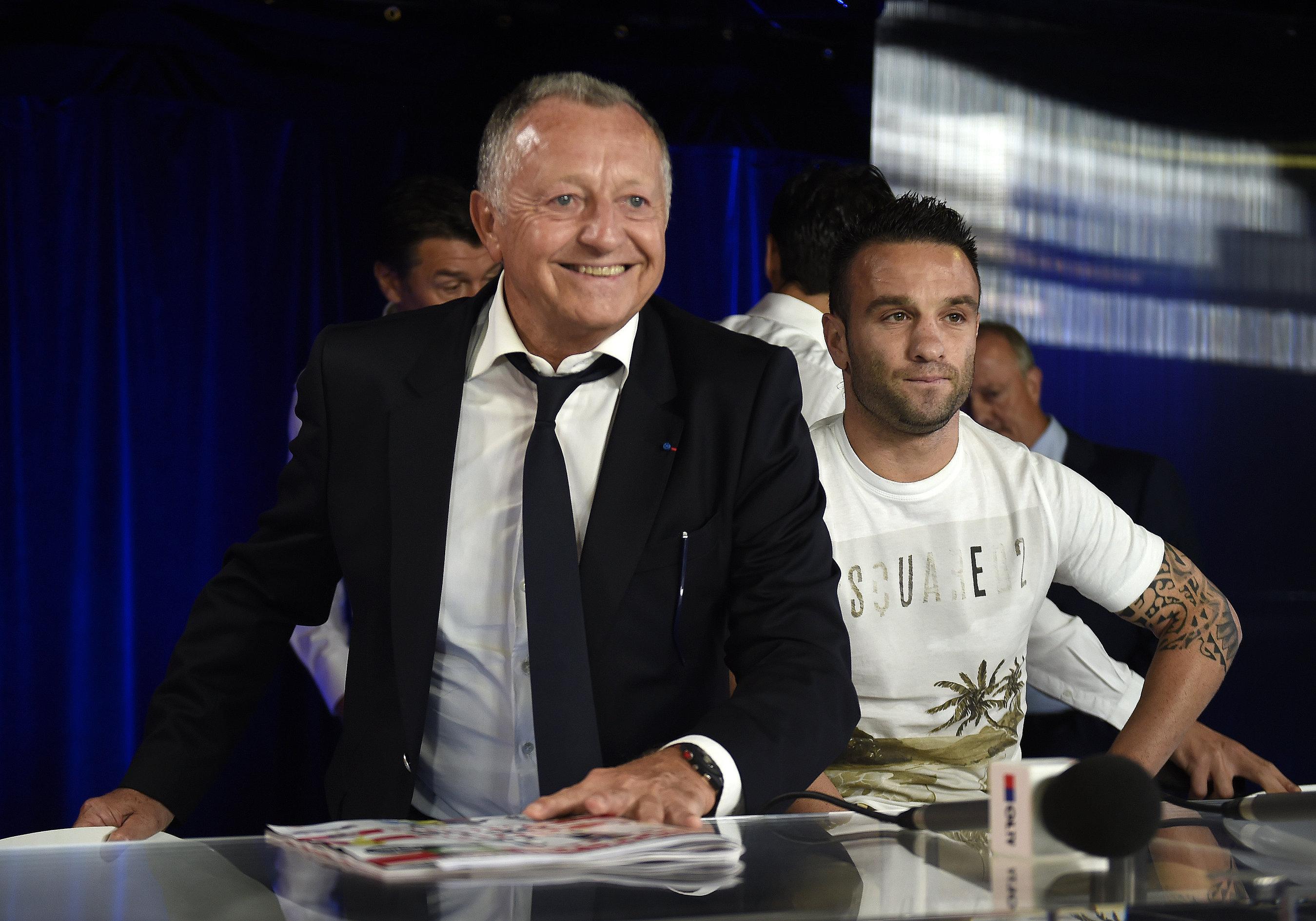Mathieu Valbuena encense Jean-Michel Aulas — Anciens