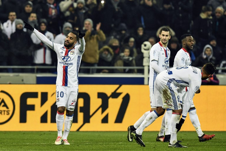 OL - Nice : les compositions officielles