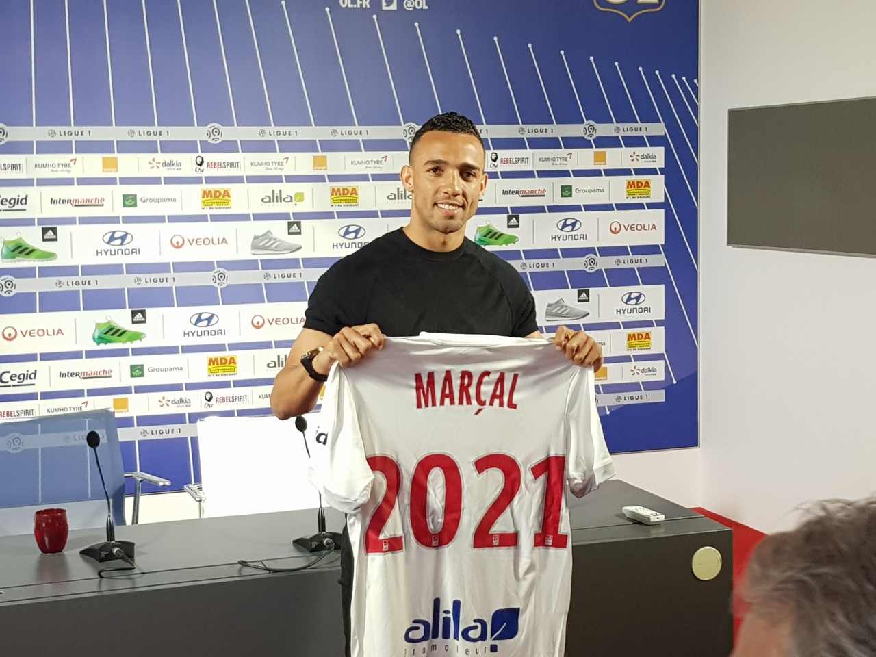 Maillot OL MARCAL