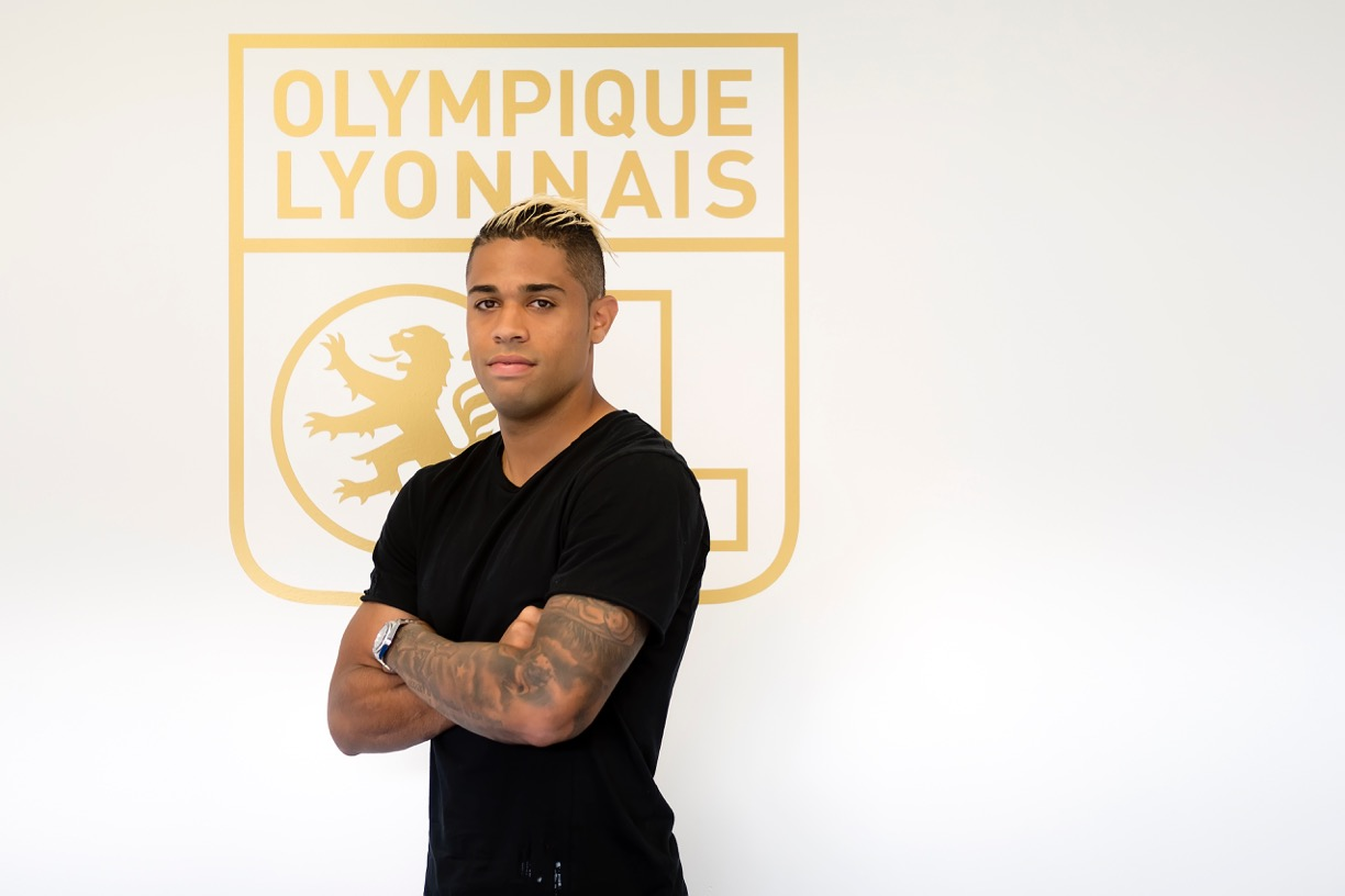 maillot entrainement OL Mariano DIAZ