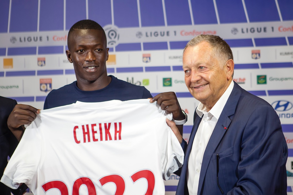 Maillot OL Pape Cheikh DIOP