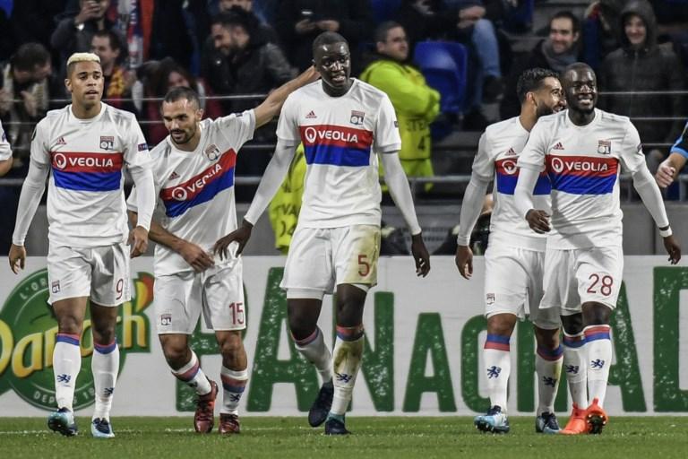 Lyon se qualifie pour les 16es de finale — Europa League
