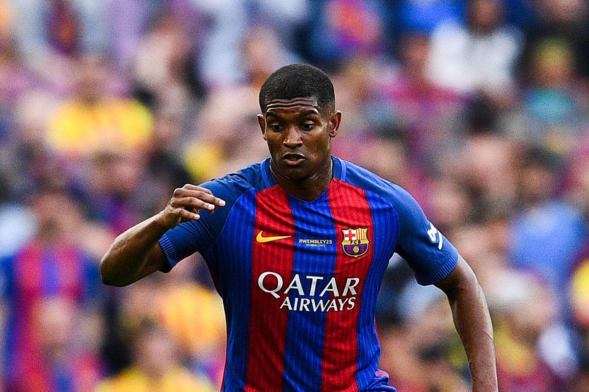 OL - Mercato : Barça, la valeur marchande de Yerry Mina a grimpé