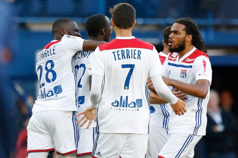 Maillot Extérieur Olympique Lyonnais Jason DENAYER