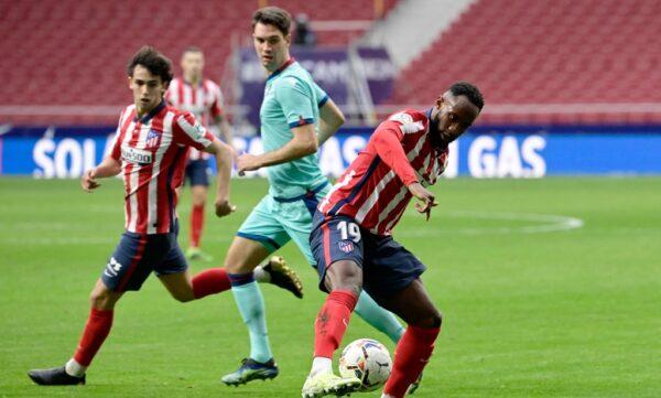 OL : Dembélé a joué ses premières minutes avec l'Atlético de Madrid - Olympique et Lyonnais